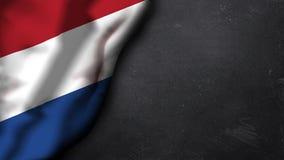 Bandierina dei Paesi Bassi Immagine Stock