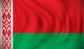 Bandierina del Belarus Immagine Stock Libera da Diritti