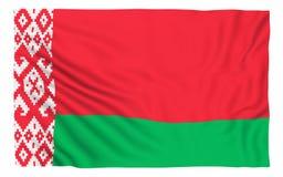 Bandierina del Belarus Fotografia Stock