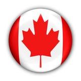Bandierina del Canada royalty illustrazione gratis