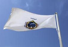 Bandierina del consiglio di cooperazione del golfo Fotografia Stock Libera da Diritti