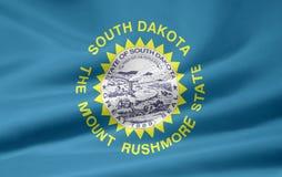 Bandierina del Dakota del Sud Fotografia Stock Libera da Diritti