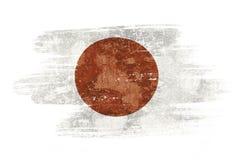 Bandierina del Giappone Fotografia Stock