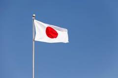 Bandierina del Giappone Fotografia Stock Libera da Diritti