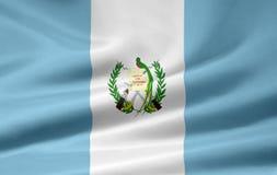 Bandierina del Guatemala Fotografie Stock Libere da Diritti