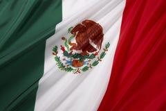 Bandierina del Messico Immagine Stock Libera da Diritti