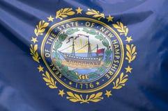 Bandierina del New Hampshire della condizione Fotografia Stock Libera da Diritti