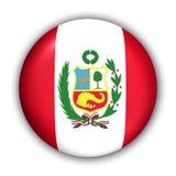 Bandierina del Perù illustrazione di stock