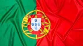 Bandierina del Portogallo Immagini Stock