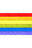 Bandierina del Rainbow Fotografie Stock Libere da Diritti