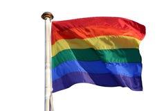 Bandierina del Rainbow Immagine Stock Libera da Diritti