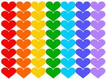 Bandierina del Rainbow Immagini Stock Libere da Diritti