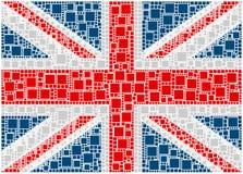 Bandierina del Regno Unito Fotografia Stock