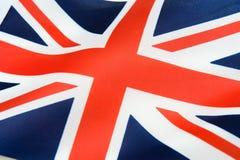 Bandierina del Regno Unito Fotografie Stock