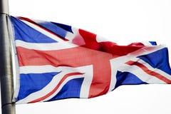 Bandierina del Regno Unito Immagini Stock Libere da Diritti