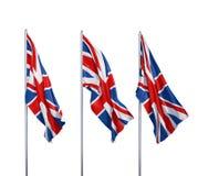 Bandierina del Regno Unito Fotografie Stock Libere da Diritti