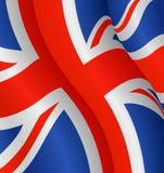 Bandierina del Regno Unito Fotografia Stock Libera da Diritti