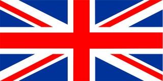 Bandierina del Regno Unito Immagine Stock