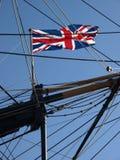 Bandierina del sindacato sulla vittoria di HMS Fotografia Stock