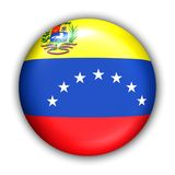 Bandierina del Venezuela fotografia stock libera da diritti