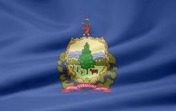 Bandierina del Vermont Fotografia Stock Libera da Diritti