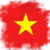 Bandierina del Vietnam Immagini Stock