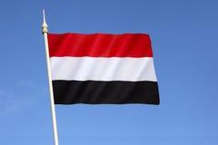 Bandierina del Yemen Fotografie Stock Libere da Diritti