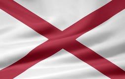 Bandierina dell'Alabama Immagine Stock Libera da Diritti