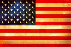 Bandierina dell'America Fotografia Stock Libera da Diritti