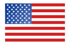 Bandierina dell'America Fotografie Stock