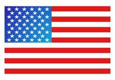 Bandierina dell'America Immagine Stock