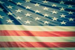 Bandierina dell'America Fotografie Stock Libere da Diritti