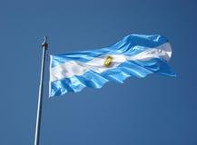 Bandierina dell'Argentina Fotografie Stock Libere da Diritti