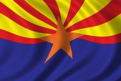 Bandierina dell'Arizona illustrazione vettoriale