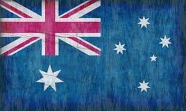 Bandierina dell'Australia royalty illustrazione gratis