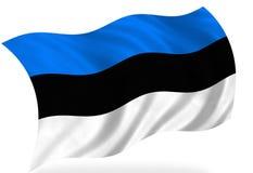 Bandierina dell'Estonia royalty illustrazione gratis