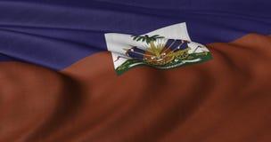 Bandierina dell'Haiti fotografia stock libera da diritti