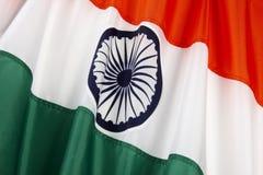 Bandierina dell'India Immagini Stock Libere da Diritti