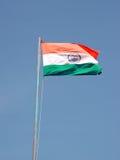 Bandierina dell'India Fotografie Stock Libere da Diritti