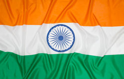 Bandierina dell'India Immagine Stock