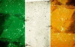 Bandierina dell'Irlanda Fotografia Stock Libera da Diritti