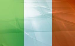 Bandierina dell'Irlanda Fotografie Stock Libere da Diritti