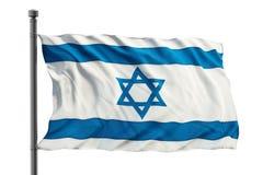 Bandierina dell'Israele Fotografie Stock