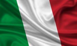 Bandierina dell'Italia illustrazione vettoriale