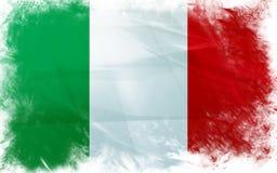 Bandierina dell'Italia Immagini Stock