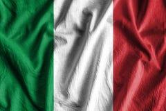 Bandierina dell'Italia Fotografia Stock