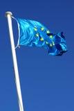 Bandierina dell'Ue Immagine Stock Libera da Diritti