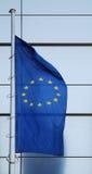 Bandierina dell'unione dell'Europa Fotografia Stock Libera da Diritti