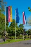 Bandierina dell'unione europea Immagini Stock Libere da Diritti