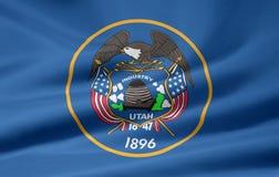 Bandierina dell'Utah Fotografia Stock Libera da Diritti